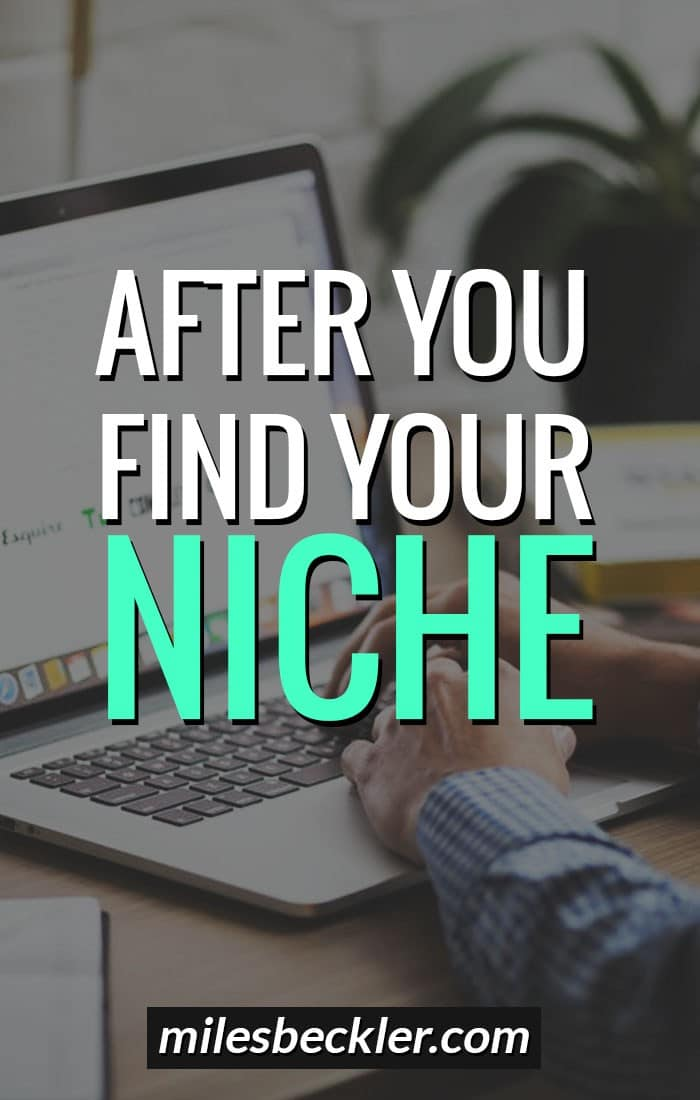 Your Next Steps After Finding Your Niche Market Product