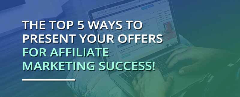 affiliate marketing offers