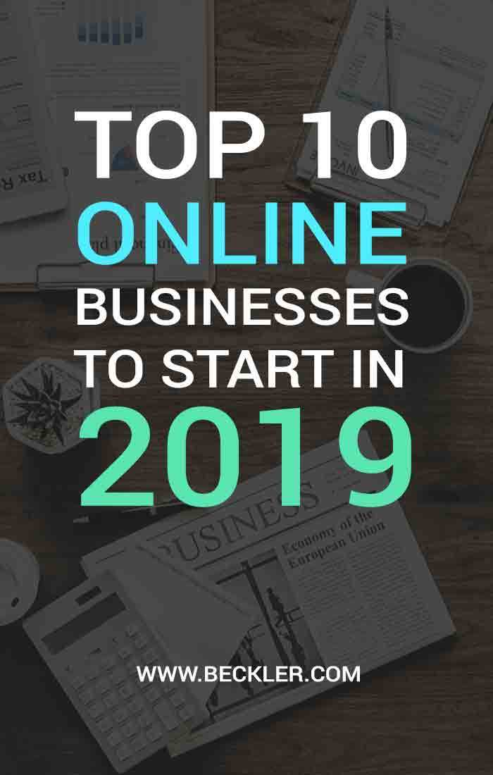 Top Online Business Ideas In 2019 How To Make 10k A Month