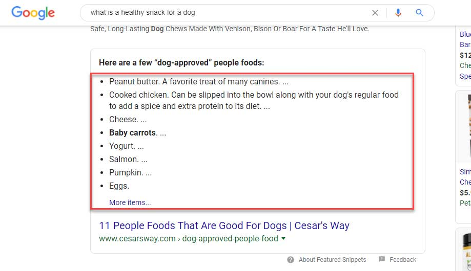 Dog Approved People Foods
