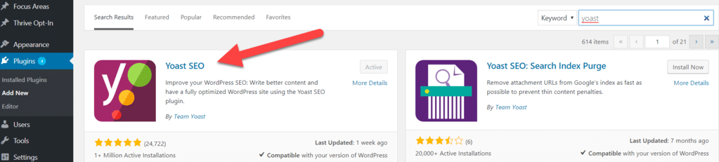 how to install yoast seo