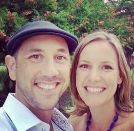 Miles Beckler and Wife