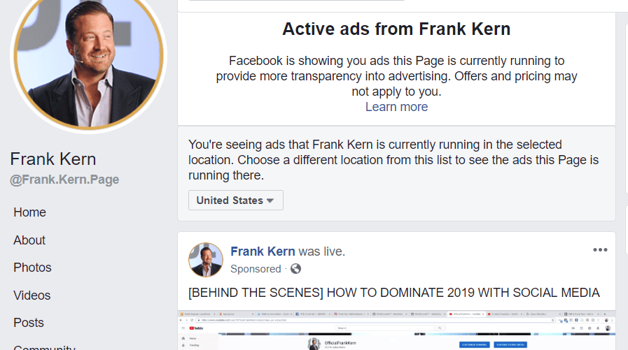 facebook advertising tip steal competitors ads
