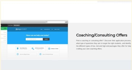 finding coaching and consulting offers