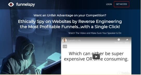 funnel spy overview