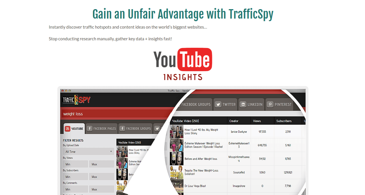 traffic spy snapshot