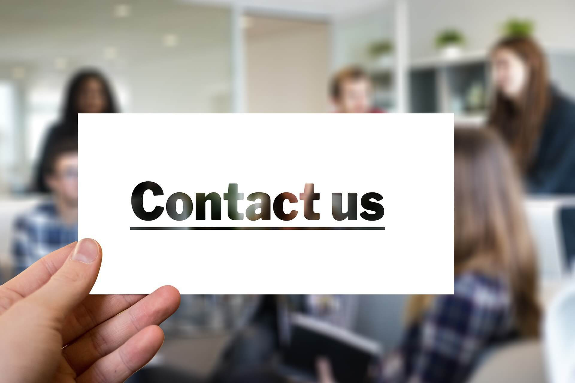 contact page upgrade