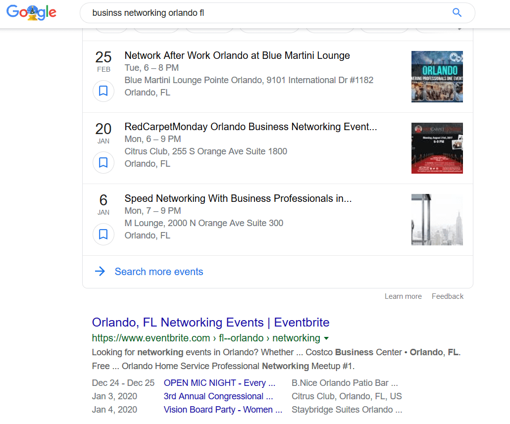 promote and sell seo services by joining local networking groups