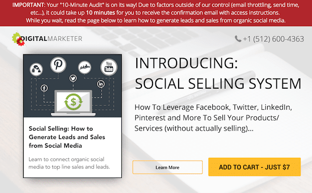adding white space on a sales page