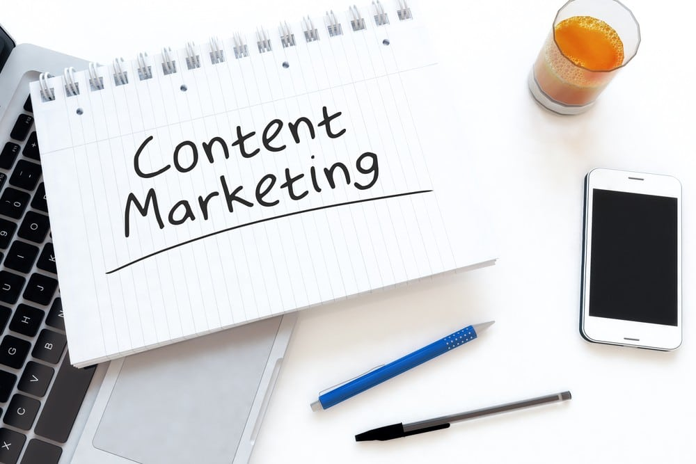 content marketing on Hubspot