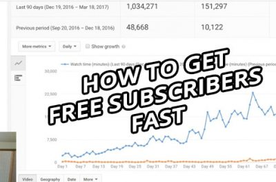 get free subscribers and make money on youtube fast