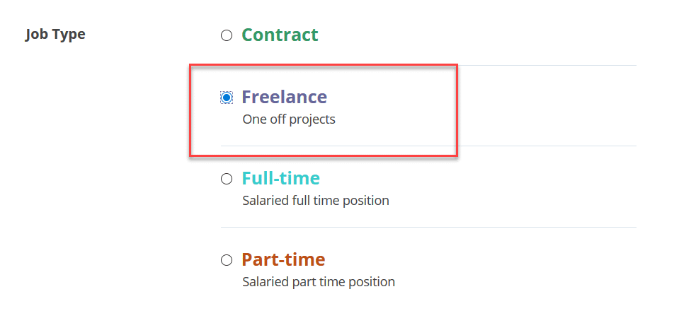 freelance option